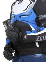 ZEUS VIPER SMART JACKET BLACK BLUE