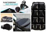 FEGO Float – Air Suspension Seat Black Leather Cushion Seat With Air Suspension Technology