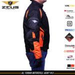 Zeus All Terrain Jacket Orange