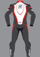 Zeus Evo-Tech Race Red/Black Custom Fit