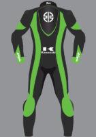 Zeus Evo-Tech Race Suit Kawasaki Custom Fit